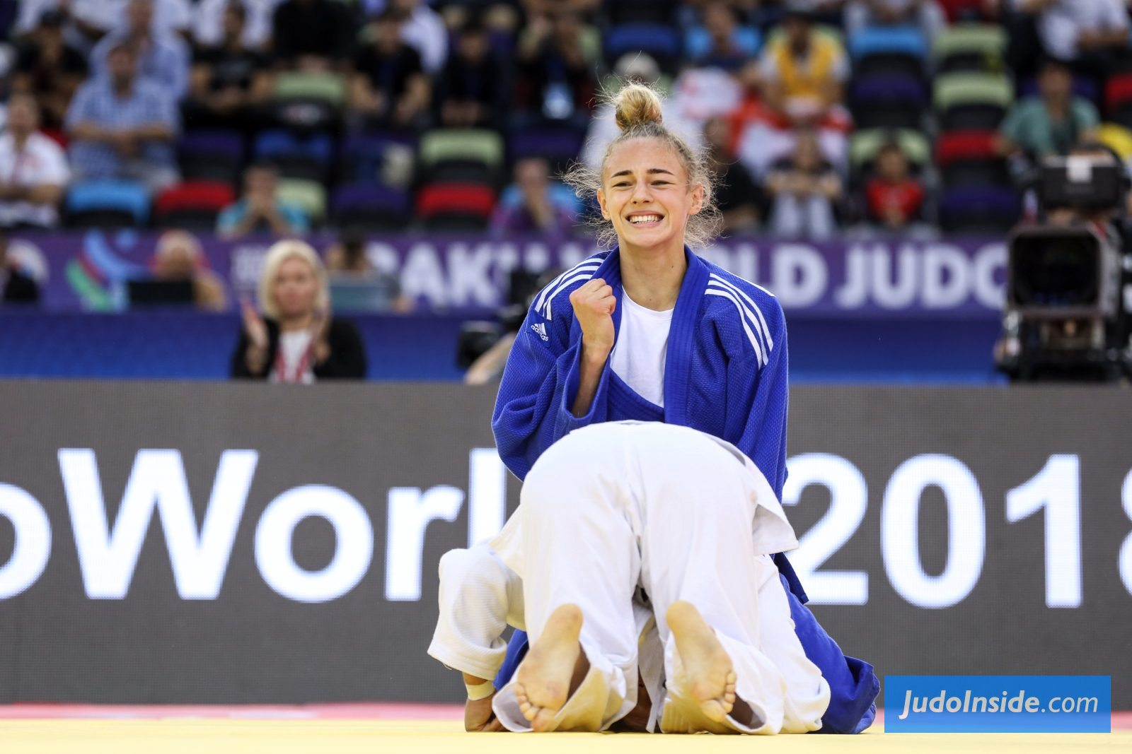 Judoinside News Daria Bilodid Youngest Ever Judo World Champion In History