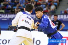 Daniel Cargnin (BRA), Ba-Ul An (KOR) - World Championships Baku (2018, AZE) - © JudoInside.com, judo news, results and photos