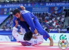 Mohammad Mohammadi (IRI), Odbayar Ganbaatar (MGL) - World Championships Baku (2018, AZE) - © IJF Media Team, International Judo Federation