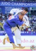 Lasha Shavdatuashvili (GEO), Khalil Rebahi (QAT) - World Championships Baku (2018, AZE) - © IJF Media Team, International Judo Federation