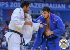 Ramadan Darwish (EGY), Niyaz Ilyasov (RUS) - World Championships Baku (2018, AZE) - © IJF Media Team, International Judo Federation