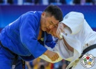 Aaron Wolf (JPN), Otgonbaatar Lkhagvasuren (MGL) - World Championships Baku (2018, AZE) - © IJF Media Team, International Judo Federation