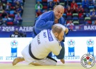 Daniel Allerstorfer (AUT), Ushangi Kokauri (AZE) - World Team Championships Baku (2018, AZE) - © IJF Media Team, International Judo Federation