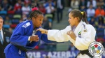 Maria Portela (BRA), Maylin Del Toro Carvajal (CUB) - World Team Championships Baku (2018, AZE) - © IJF Media Team, International Judo Federation