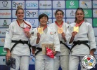 Rinoko Wada (JPN), Karla Prodan (CRO), Shelley Ludford (GBR), Patricia Sampaio (POR) - World U21 Championships Nassau (2018, BAH) - © IJF Media Team, International Judo Federation