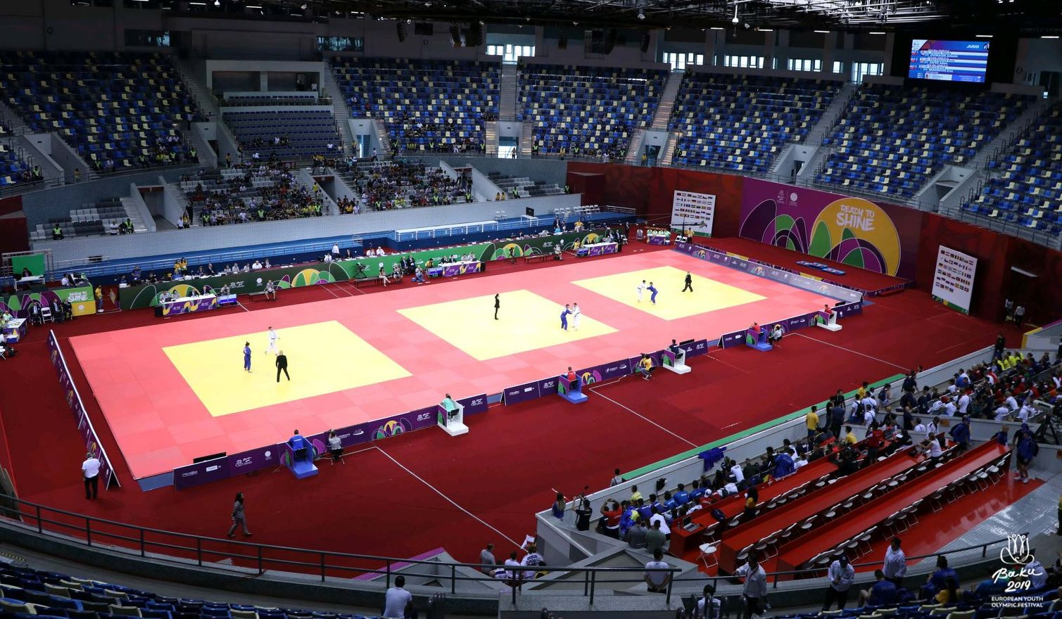 JudoInside - News - Turkey grabs gold at EYOF Mixed team event