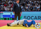 Mohamed Abdelmawgoud (EGY), Yarin Menaged (ISR), Vyacheslav Pereteyko (UZB) - Grand Prix Tashkent (2019, UZB) - © IJF Marina Mayorova, International Judo Federation