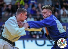 Vadzim Shoka (BLR), Giovanni Esposito (ITA) - Grand Prix Tel Aviv (2019, ISR) - © IJF Media Team, International Judo Federation
