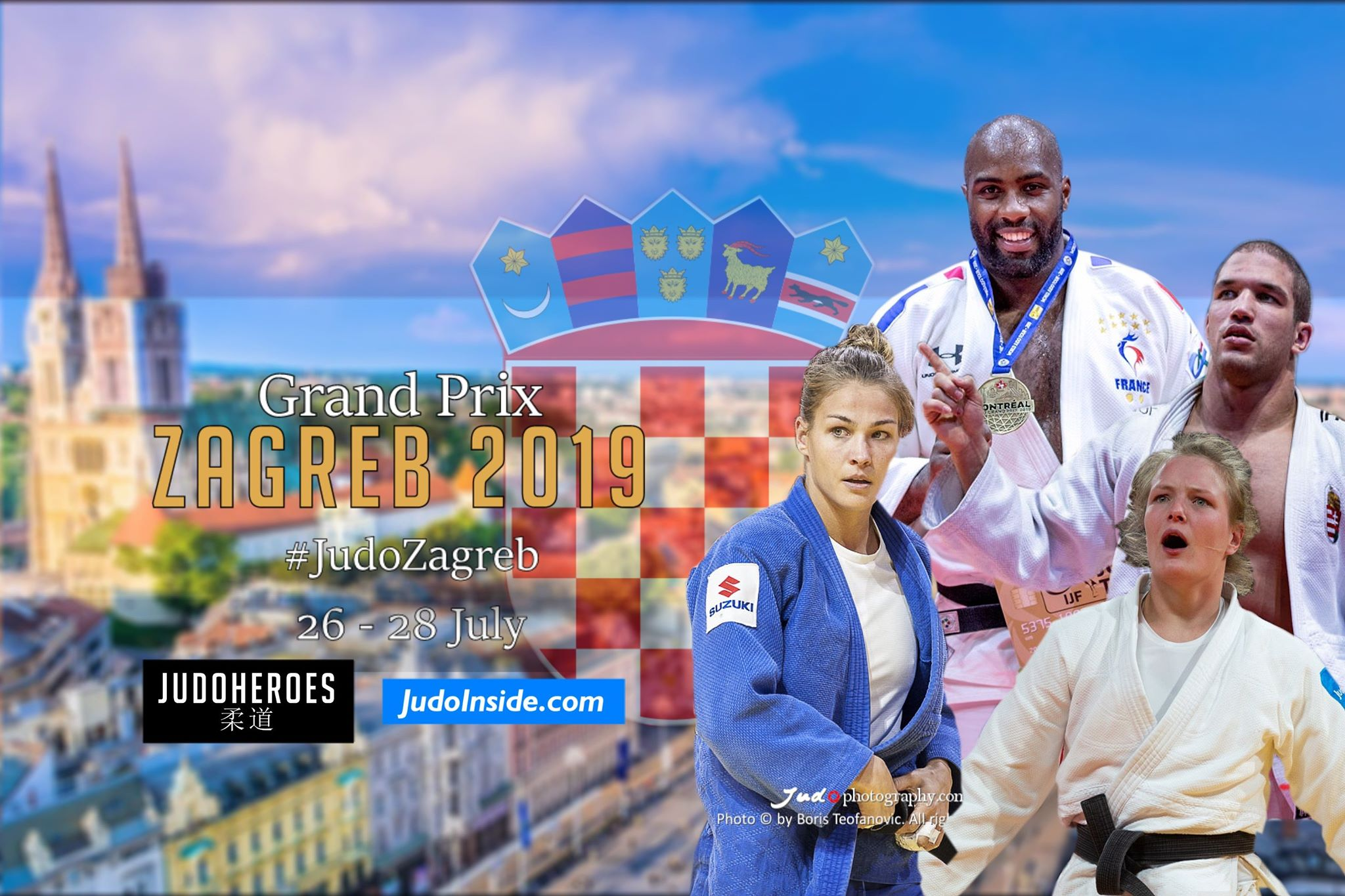 Judoinside News Preview Grand Prix Zagreb With Riner But Without Tushishvili