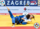 Charline Van Snick (BEL), Da Sol Park (KOR) - Grand Prix Zagreb (2019, CRO) - © IJF Aurelien Brandenburger, 	International Judo Federation