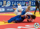 Yoko Ono (JPN), Kim Polling (NED) - Grand Prix Zagreb (2019, CRO) - © IJF Aurelien Brandenburger, 	International Judo Federation
