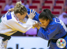 Sally Conway (GBR), Elvismar Rodriguez (VEN) - Grand Slam Abu Dhabi (2019, UAE) - © IJF Gabriela Sabau, International Judo Federation