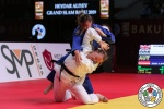 Gemma Howell (GBR), Michaela Polleres (AUT) - Grand Slam Baku (2019, AZE) - © IJF Emanuele Di Feliciantonio, International Judo Federation