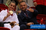 Majlinda Kelmendi (KOS), Driton Kuka (KOS) - Grand Slam Düsseldorf (2019, GER) - © JudoInside.com, judo news, results and photos