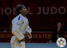 Marie Eve Gahié (FRA) - Grand Slam Ekaterinburg (2019, RUS) - © IJF Marina Mayorova, International Judo Federation
