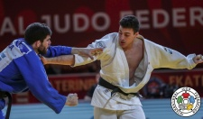 Shady El Nahas (CAN), Cyrille Maret (FRA) - Grand Slam Ekaterinburg (2019, RUS) - © IJF Marina Mayorova, International Judo Federation