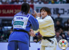 Chizuru Arai (JPN), Elvismar Rodriguez (VEN) - Grand Slam Osaka (2019, JPN) - © IJF Marina Mayorova, International Judo Federation