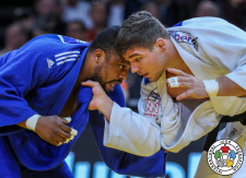 Noël Van 't End (NED), Eyale Le Beau (COD) - Grand Slam Paris (2019, FRA) - © IJF Media Team, International Judo Federation