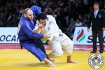 Hisayoshi Harasawa (JPN), Daniel Allerstorfer (AUT) - Grand Slam Paris (2019, FRA) - © IJF Media Team, International Judo Federation