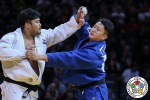 SungMin Kim (KOR), Hisayoshi Harasawa (JPN) - Grand Slam Paris (2019, FRA) - © IJF Media Team, International Judo Federation