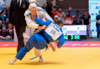 Inna Cherniak (UKR) - IBSA Paralympic Qualifier in Fort Wayne (2019, USA) - © IBSA Judo