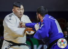 Min-Jong Kim (KOR) - World Championships Juniors Marrakech (2019, MAR) - © IJF Gabriela Sabau, International Judo Federation
