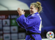 Marit Kamps (NED) - World Championships juniors Marrakech (2019, MAR) - © IJF Gabriela Sabau, International Judo Federation