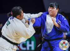 Ruri Takahashi (JPN), Hayun Kim (KOR) - World Championships juniors Marrakech (2019, MAR) - © IJF Gabriela Sabau, International Judo Federation