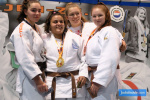Nicoleta Vulpasin (GRE), Barbara Konings (NED), Eva Hornsveld (NED), Moniek Reinicke (GER) - Dutch Open Espoir U18 Eindhoven (2020, NED) - © JudoInside.com, judo news, results and photos