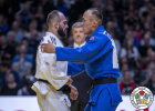 Baruch Shmailov (ISR), Baskhuu Yondonperenlei (MGL) - Grand Slam Paris (2020, FRA) - © IJF Gabriela Sabau, International Judo Federation