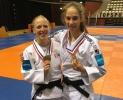 Naomi Van Krevel (NED), Indy Godschalk (NED) - Dutch Championships U21 Almere (2019, NED) - © JudoInside.com, judo news, results and photos