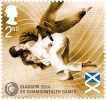 Judo Stamps (IJF) - Commonwealth Games Glasgow (2014, SCO) - © From internet, no source