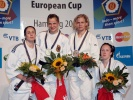 Johanna Ylinen (FIN), Claudia Malzahn (GER), Faith Pitman (GBR), Sarah Clark (GBR) - Grand Prix Hamburg (2009, GER) - © From internet, no source