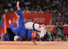 Automne Pavia (FRA) - Olympic Games London (2012, GBR) - © Lou DiGesare, realjudo.net