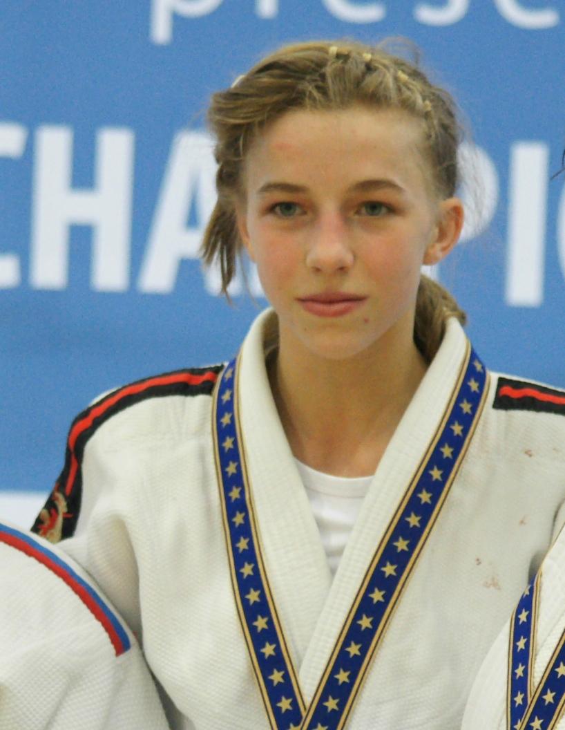 Jackie Groenen Ned European Cadet Championships U Cze