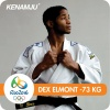 Dex Elmont (NED) - 2016 Olympic Games day 3 Judo U73kg & U57kg (2016, BRA) - © Facebook