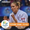 Esther Stam (GEO) - 2016 Olympic Games day 5 Judo U90kg & U70kg (2016, BRA) - © Facebook