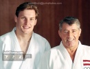 Peter Seisenbacher (AUT), George Kerr (GBR) - © David Finch, Judophotos.com